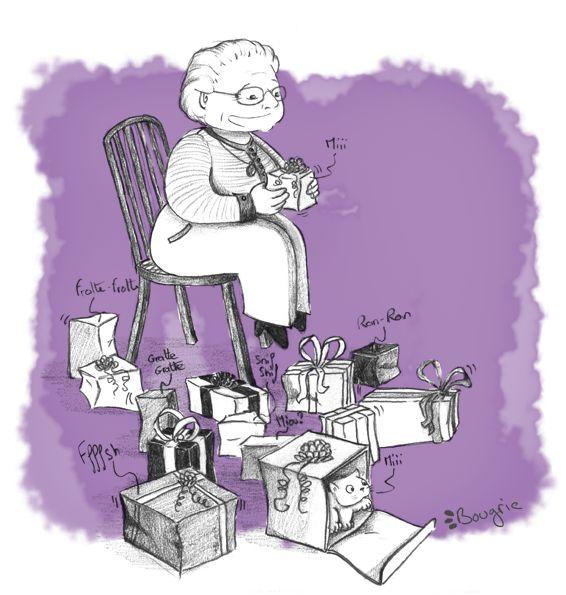 anniversaire grand-mère