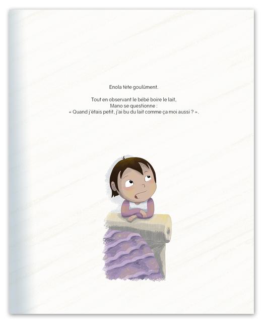 extrait 2 du livre Bébé a faim virginie maillard