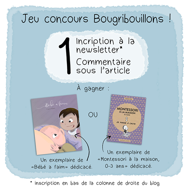 """Concours blog """"Bébé a faim"""" - Montessori à la maison - Actes Sud - Je passe à l'acte"""