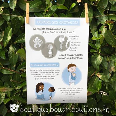 affiches petite enfance Bougribouillons Croyance de l'éducation Violence éducative ordinaire