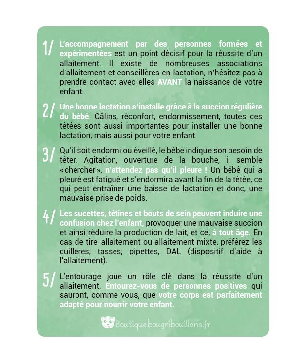 Affiche allaitement Bougribouillons - 1