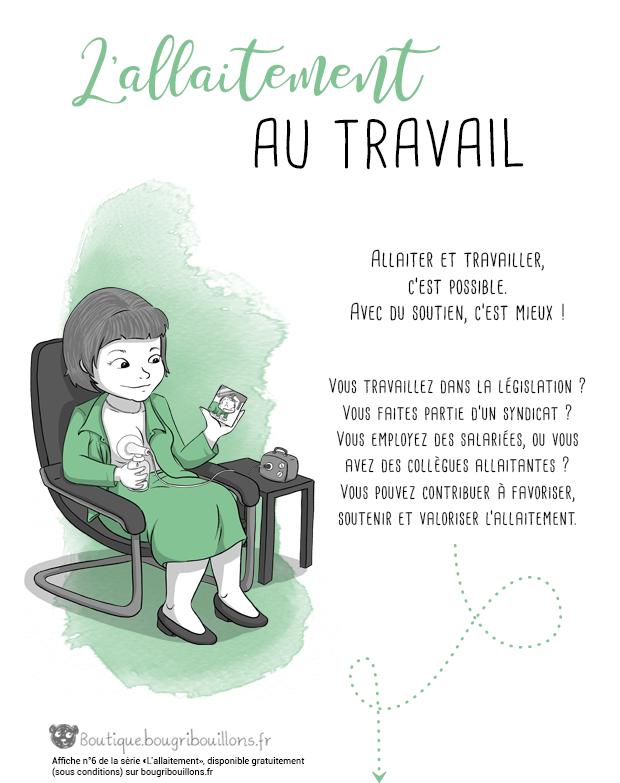 Affiche allaitement Bougribouillons - 6
