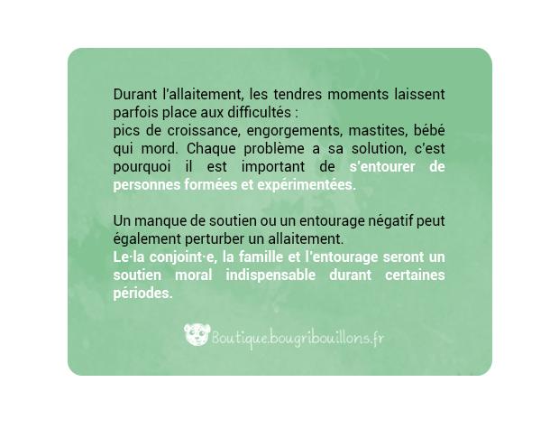 Affiche allaitement Bougribouillons - 2
