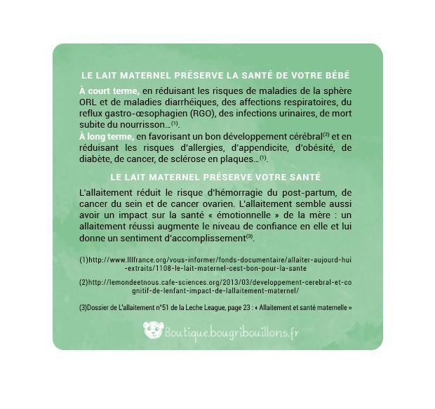 Affiche allaitement Bougribouillons - 3