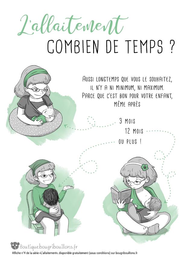 Affiche allaitement Bougribouillons - 4