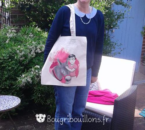Portrait dessiné Bougribouillons Virginie Maillard