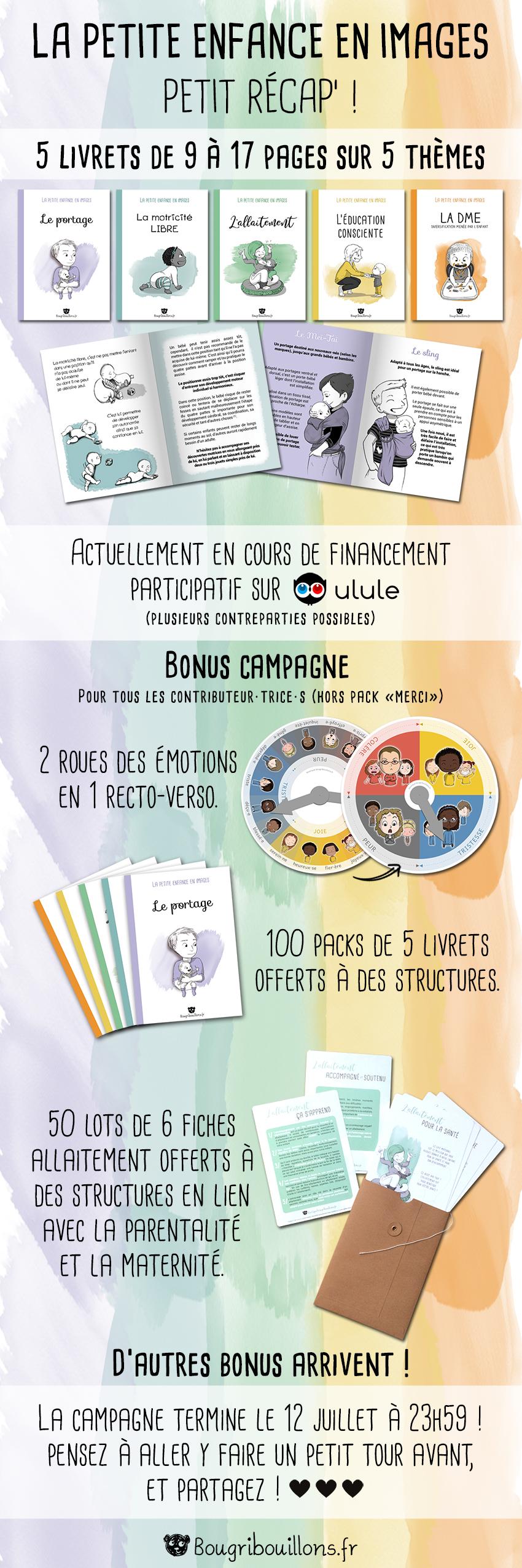 Livrets bougribouillons - Financement participatif - Ulule