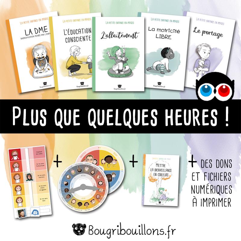 Fin de la campagne Ulule Bougribouillons