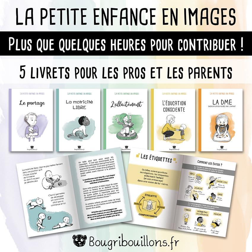 """Récap 1 de la campagne Ulule Bougribouillons - Livrets """"La petite enfance en images"""""""