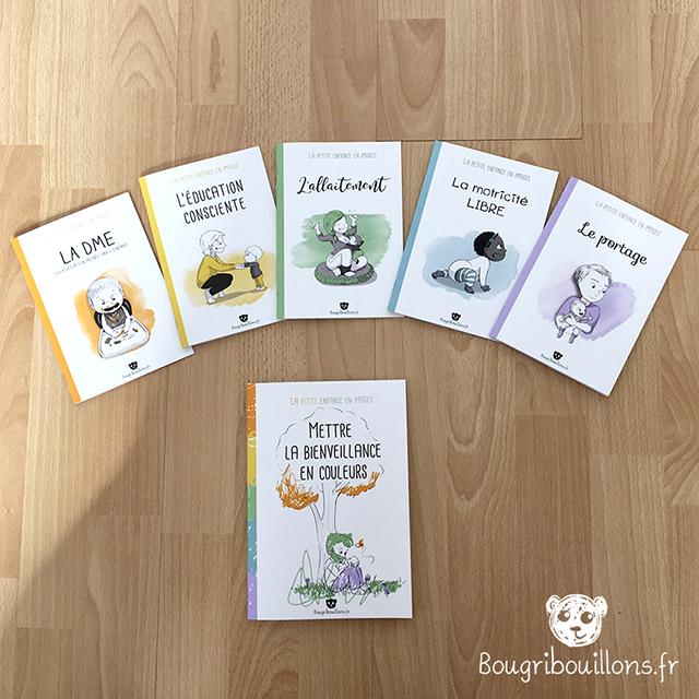 """Bon à tirer Livrets Bougribouillons """"La petite enfance en images"""""""
